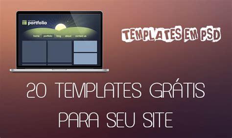 templates prontos em html e css 20 templates gr 225 tis em psd para seu site agente webmaster