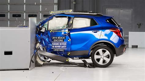 buick encore chevy trax earn top safety pick  iihs