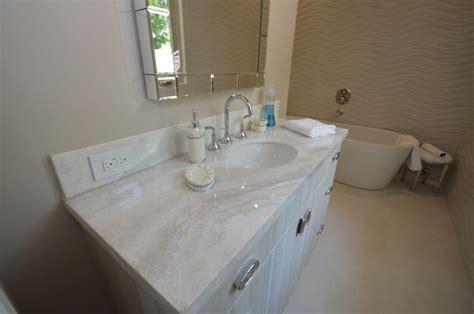 white bathroom granite vanity  oval undermount sink