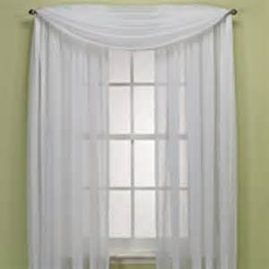 crushed voile platinum collection sheer from bed bath beyond