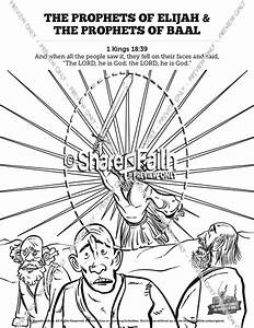 elijah the prophet 1 kings 18 sunday school coloring pages With current reviews 1