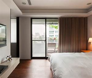 sunny bedroom balcony interior design ideas With best bedroom with balcony interior