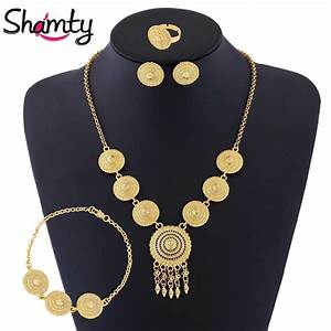 shamty bridal jewelry sets gold color wedding jewelry