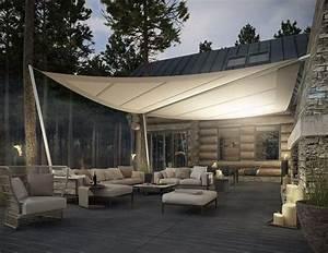 best 25 glasdach terrasse ideas on pinterest orangerie With toile tendue exterieur terrasse 15 pergola retractable