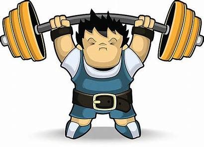 Weight Lifting Illustrations Olympic Clip Weightlifter