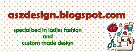 asz design peserta kursus asas menjahit pakaian di dalam