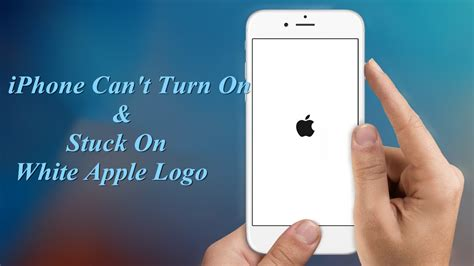 iphone stuck on apple screen how to fix iphone can t turn on stuck on white apple