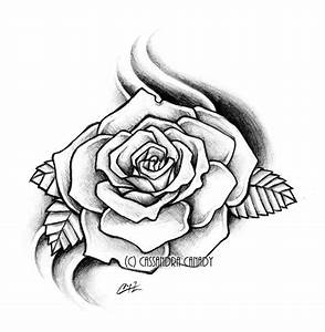 Rose Drawings In Pencil   Rose tat by ~Pencil-Chewer on ...