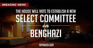 Select committee on Benghazi - Trey Gowdy to lead?