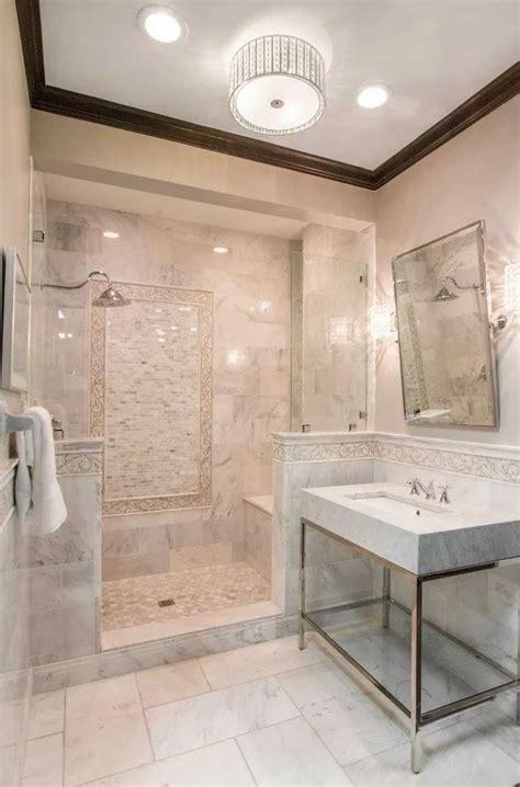 favorite shower tile ideas  marble
