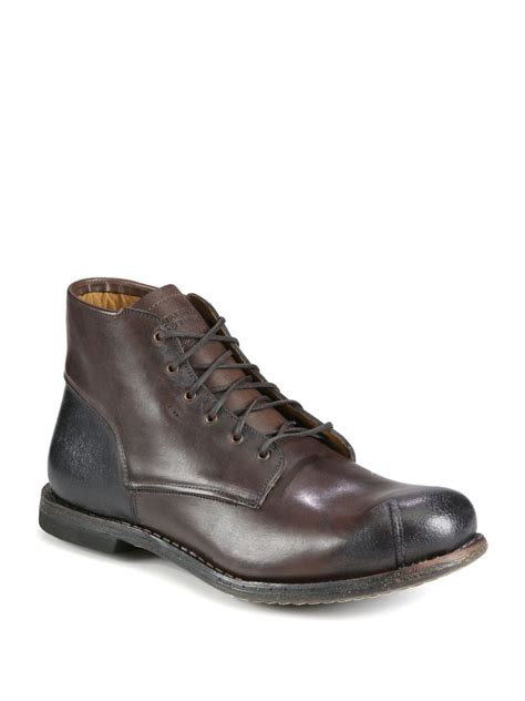 designer timberland boots timberland leather carries chukka boot in brown for lyst