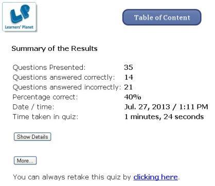 grade  olympiad english grammar interactive quizzes  kids
