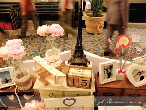 travel theme wedding decoration mandarin oriental kuala