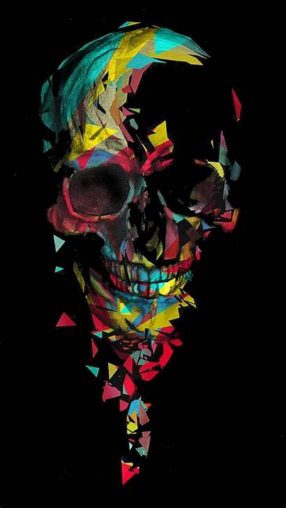 Skull Colorful Wallpapers Zedge Cool Colored Skulls