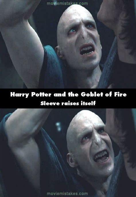 harry potter   goblet  fire   mistake