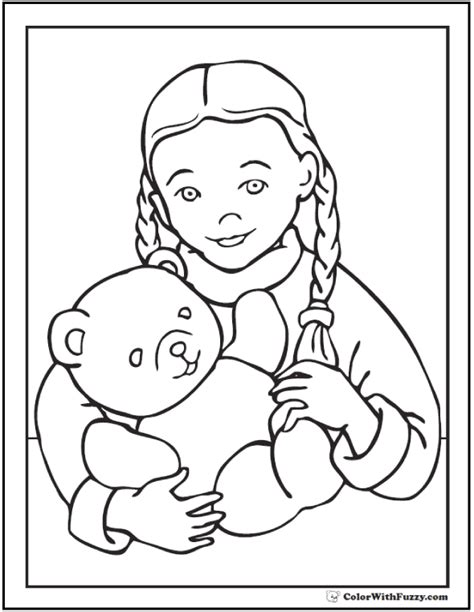teddy bear coloring pages  fun