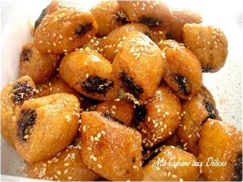 cuisine marocaine makrout aux dattes petit makrout aux dattes et graines de sesames recettes