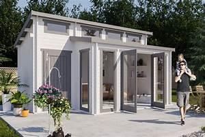 Anbau Für Gartenhaus : gartenhaus lausitz 40 iso mit anbau ~ Whattoseeinmadrid.com Haus und Dekorationen