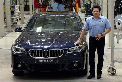 When Sachin Assembled A Bmw At Its Chennai Plant