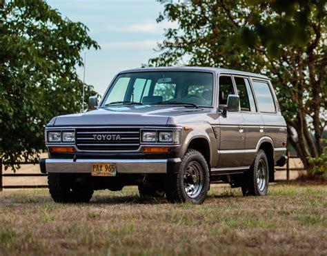 Original-owner 1988 Toyota Land Cruiser Fj62 For Sale On