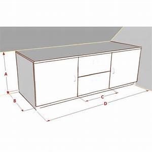 Meuble De Rangement Bas : meuble de rangement sur mesure ~ Dailycaller-alerts.com Idées de Décoration