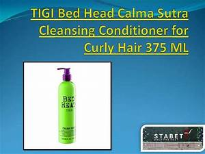 Tigi Bed Head Calma Sutra Cleansing Conditioner For Curley