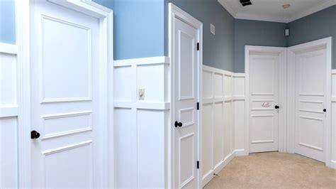 Beadboard Doors : Wainscoting Door & Beadboard Wainscoting Consists Of