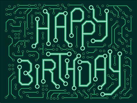 birthday card  chris edgar  dribbble
