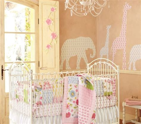 pottery barn baby wall decor animal decal set modern nursery decor by