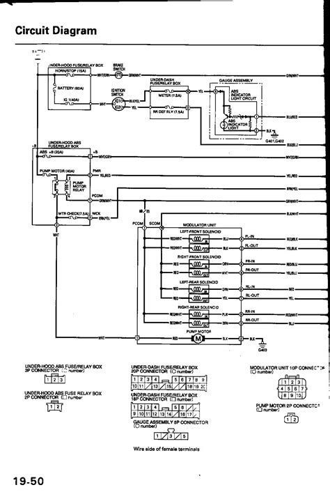 94 honda civic speaker wiring diagram get free image