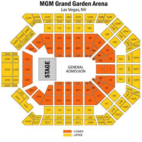 garden mgm grand garden arena