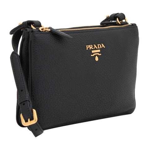 prada bh vitello phenix leather crossbody bag pink