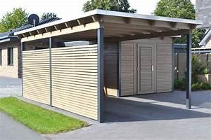 Carport Holz Modern : carport holz mit abstellraum ~ Markanthonyermac.com Haus und Dekorationen