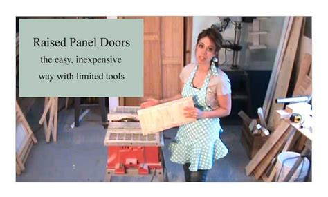 How To Make Raised Panel Cabinet Doors With A Router by White Raised Panel Cabinet Doors Diy Projects