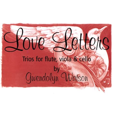 letter album cover letters by gwendolyn watson