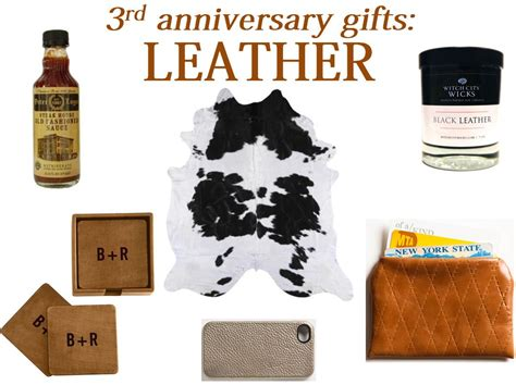 3rd anniversary gift ideas for leather gifts for third anniversary gift ftempo