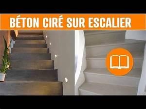 Habiller Un Escalier En Béton Brut : b ton cir sol mur escalier terrasse application outils lisseuse couteau youtube fu boden ~ Nature-et-papiers.com Idées de Décoration