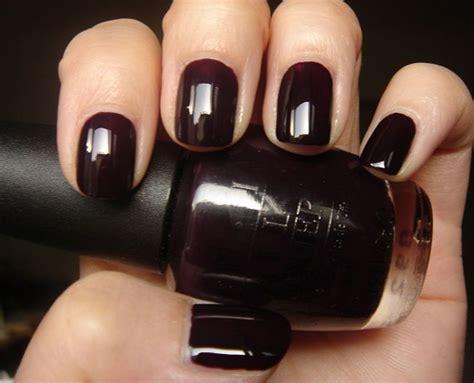 17 Best Ideas About Dark Nail Polish 2017 On Pinterest