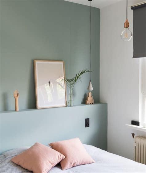 peinture chambre vert et gris 1001 idées déco charmantes pour adopter la nuance vert