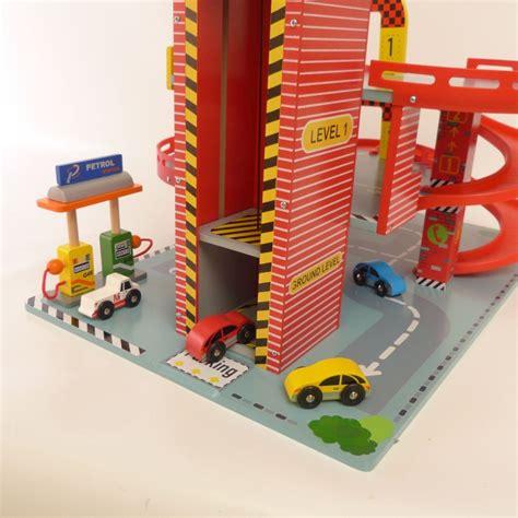 Spielzeug Haus Garage by Kinder Parkgarage F 252 R Kleine Autos Holz Spielzeug Peitz