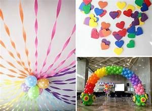 Kindergeburtstag 2 Jährige Deko : deko zum kindergeburtstag in regenbogen farben rainbow party pinterest regenbogen farben ~ Frokenaadalensverden.com Haus und Dekorationen