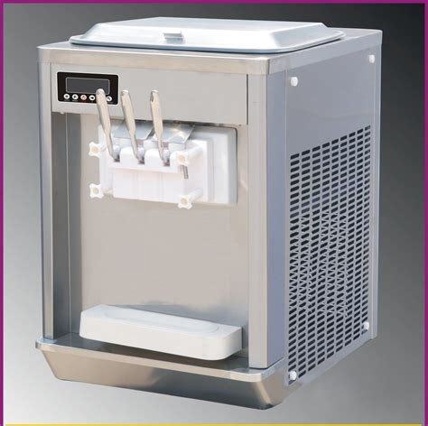 Machine Glace Pilée Machine 224 Glace Italienne 2 Kw Comptoir Machine Glace Italienne