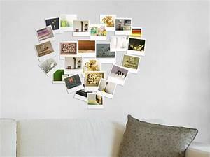 Fotos An Wand Kleben : passende fotorahmen finden und fotos richtig anordnen ~ Lizthompson.info Haus und Dekorationen