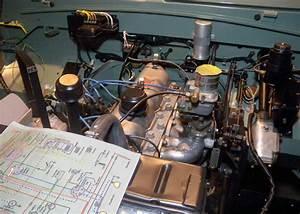 1960 Land Rover Restoration  Wiring  So Far