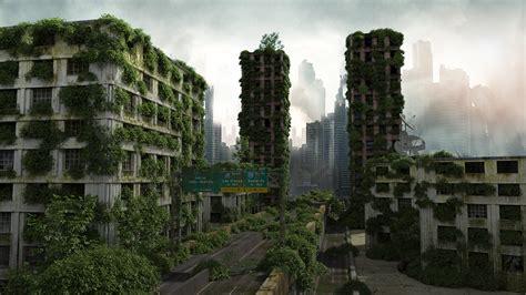alex chun post apocalyptic city