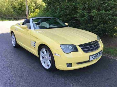 chrysler sports car convertible chrysler 2006 crossfire 3 2 v6 roadster automatic sports