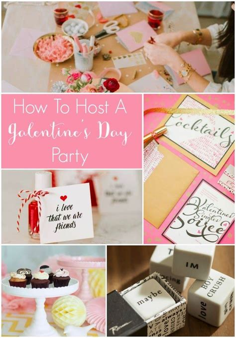 How To Host A Galentine's Day Party! | Galentines party ...