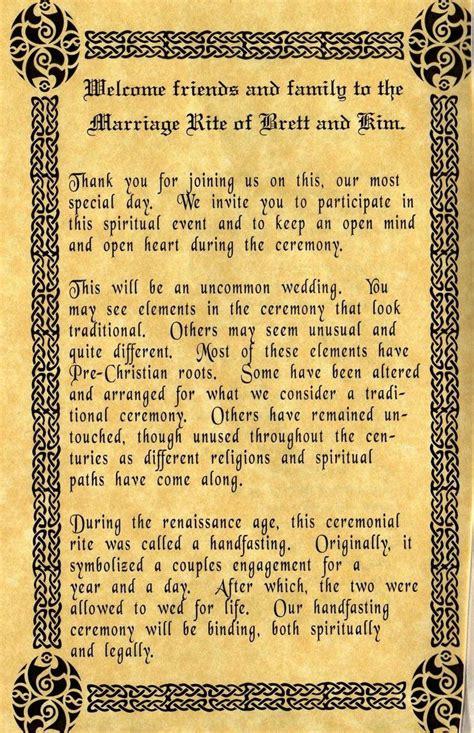 pagan handfasting images  pinterest weddings