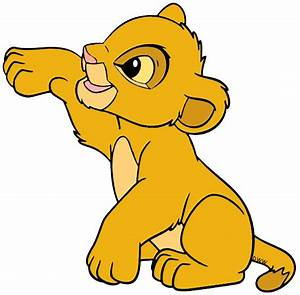 Baby Simba Clip Art | Disney Clip Art Galore