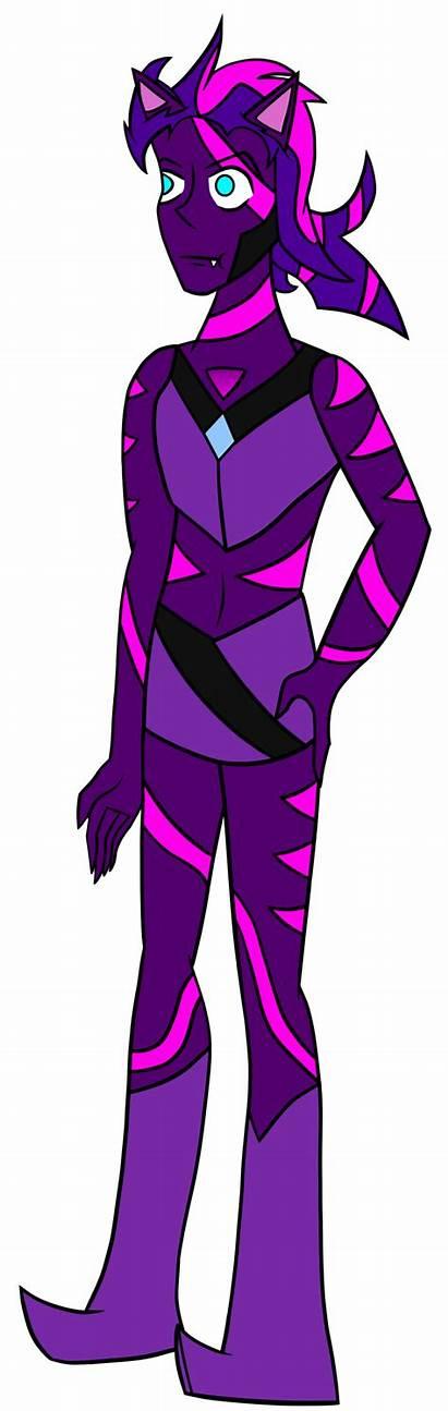 Purple Agate Steven Universe Cat